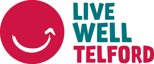 Live Well Telford logo